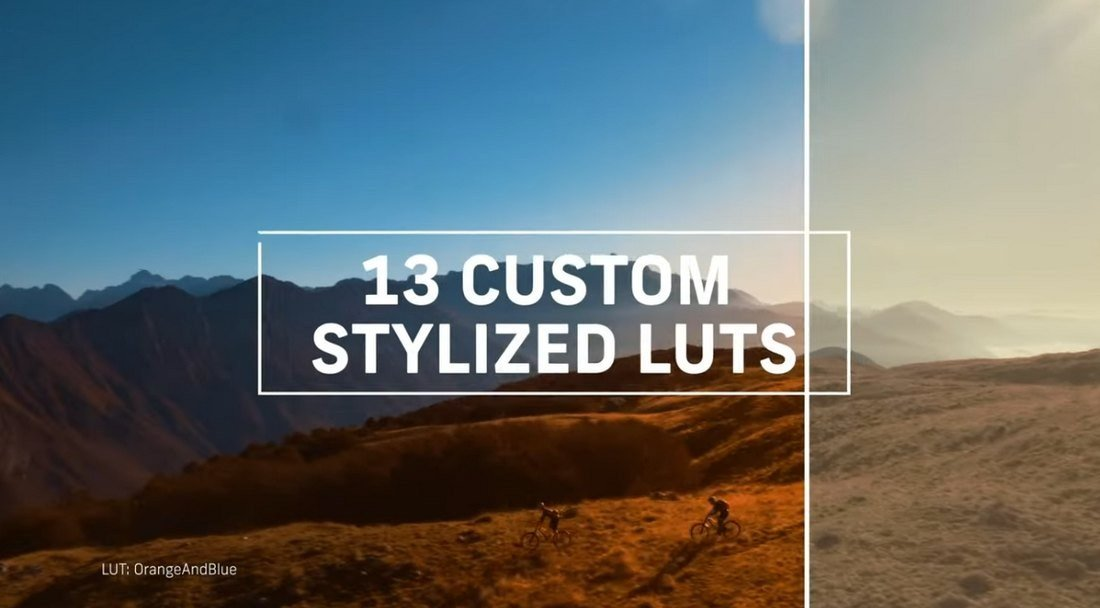 13 Free Custom LUTs for Log Footage