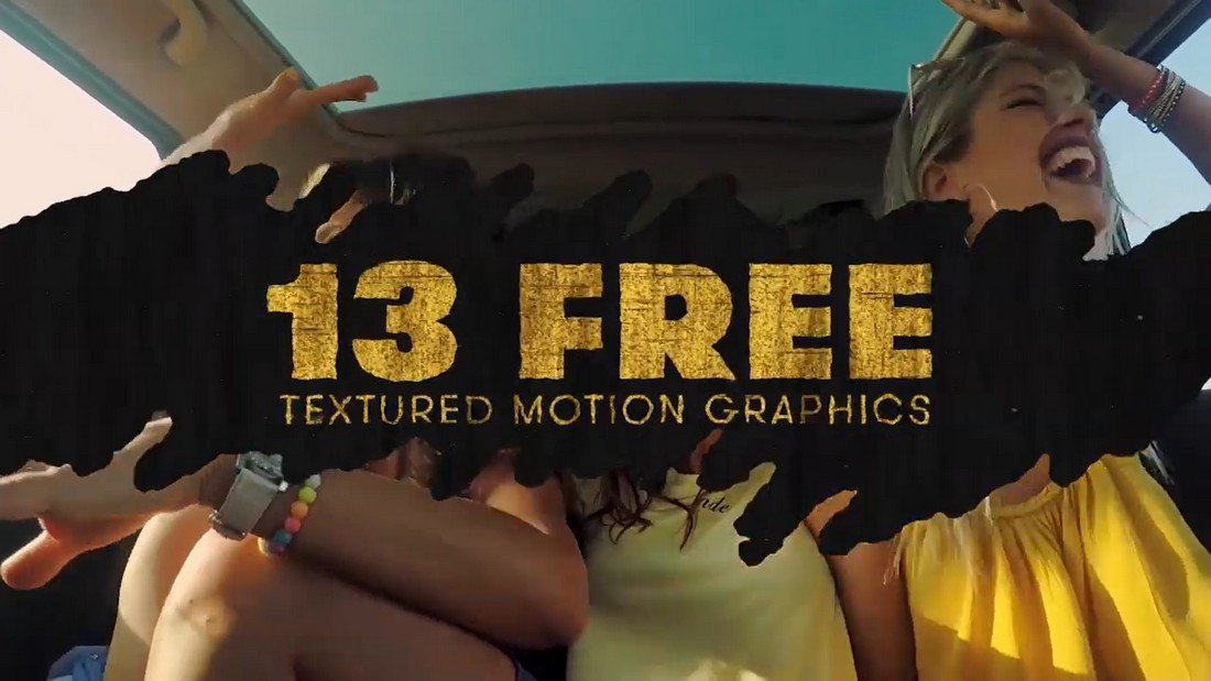 13 Free Textured Motion Graphics For Premiere Pro