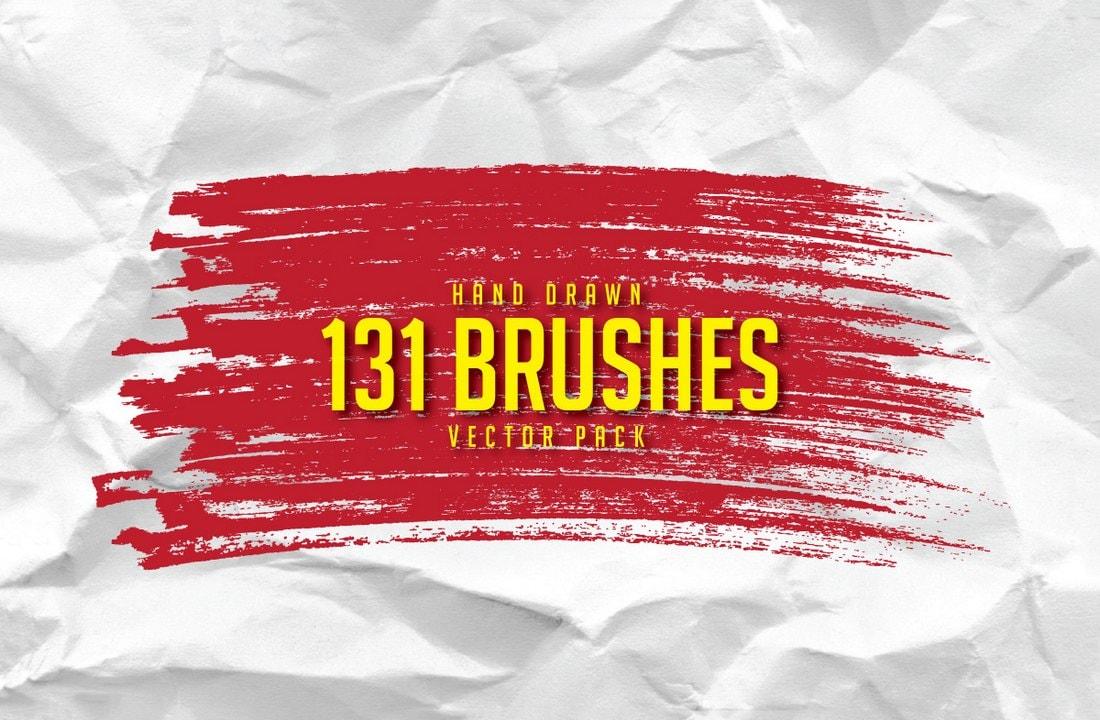 131 Free Hand Drawn Brushes
