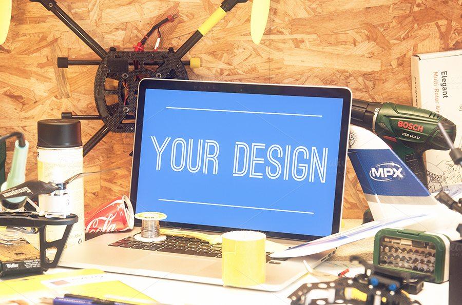 133 100+ MacBook Mockup Templates (PSD & Vector) design tips