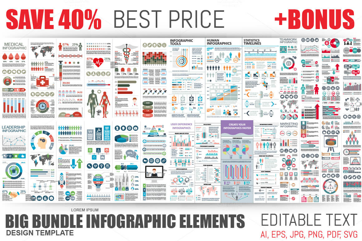 14-14 40+ Best Infographic Templates (Word, PowerPoint & Illustrator) design tips