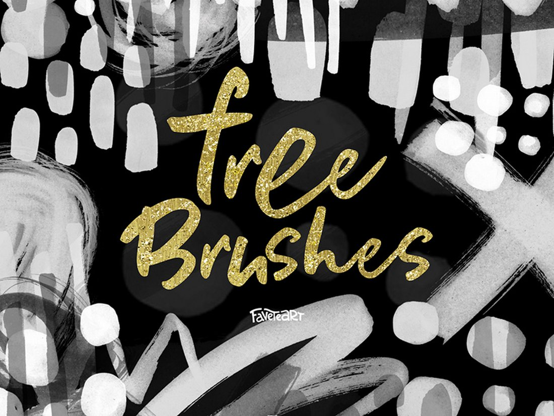 14 Free Creative Photoshop Brushes