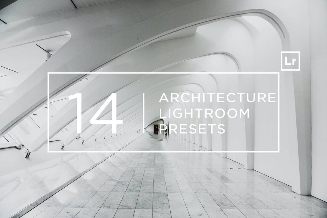 14 Pro Architecture Lightroom Presets