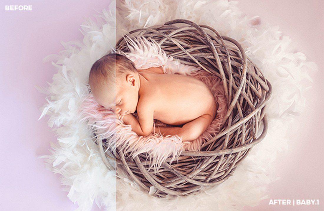 15-Baby-Lightroom-Presets 20 Best Newborn Lightroom Presets for Baby Photography design tips