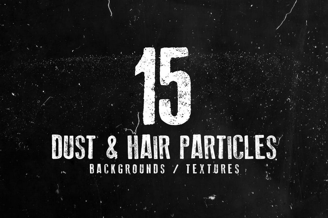 15-Dust-and-Hair-Particles-Backgrounds 30+ Best Subtle Black & White Background Textures design tips