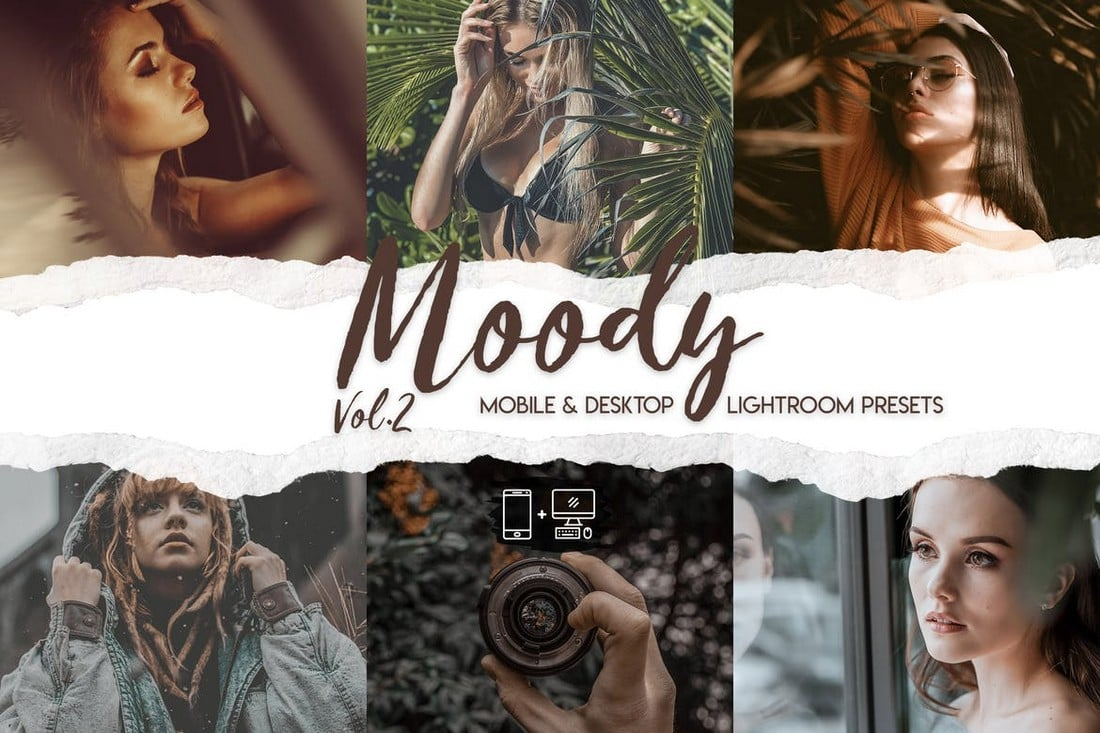 15 Premium Moody Lightroom Presets