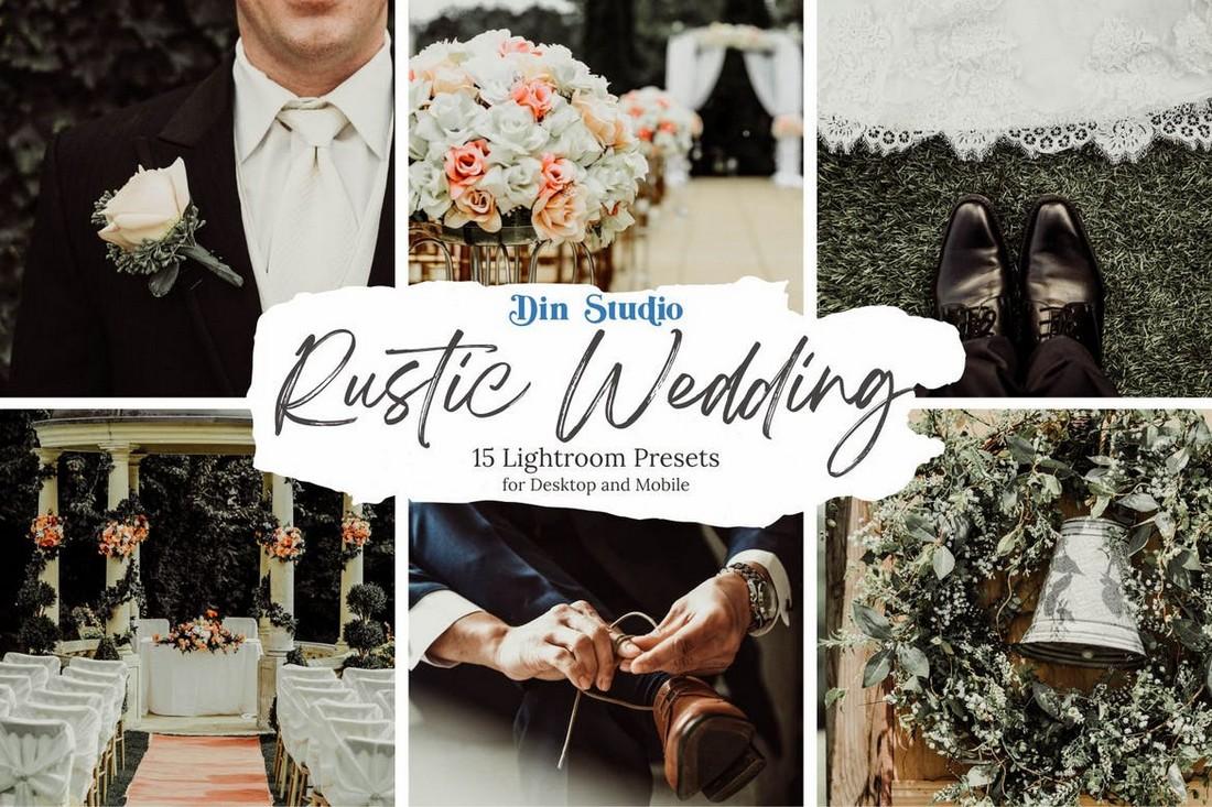 15 Rustic Wedding Lightroom Presets