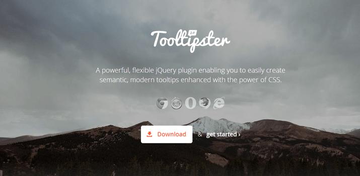 jquery open source tooltips web design jq plugin