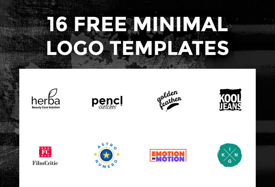 16-Free-Logo-Templates 40+ Best Photoshop Logo Templates (PSD) design tips