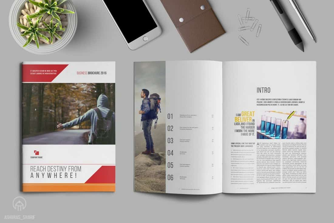 16 Page Business Brochure Template
