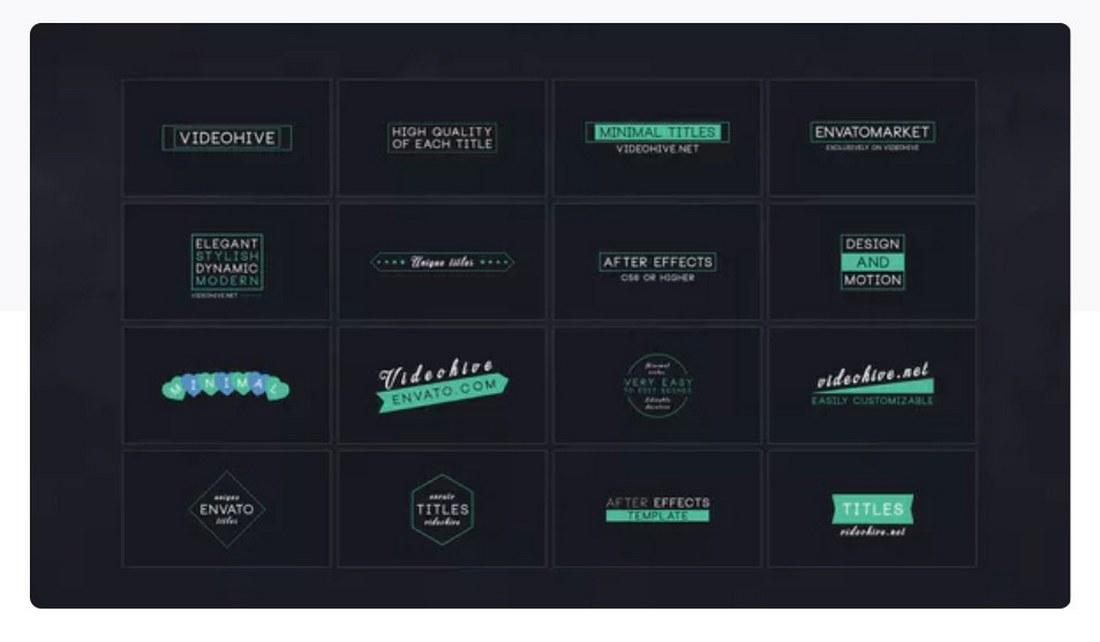 16-minimal-title-premiere-pro-template 30+ Best Premiere Pro Templates 2019 design tips