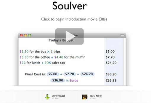 Soulver buy download trial mac