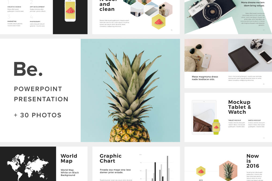 20+ best new powerpoint templates of 2016 | design shack, Powerpoint templates