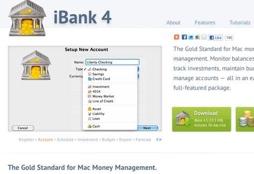 iBank gold management