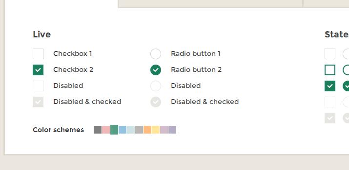 icheck input fields menus form plugin