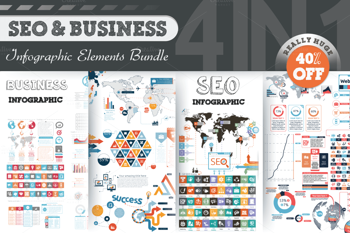 18-1 40+ Best Infographic Templates (Word, PowerPoint & Illustrator) design tips