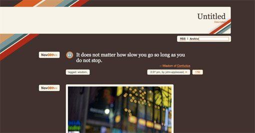 Шаблоны tumblr скачать бесплатно (много)