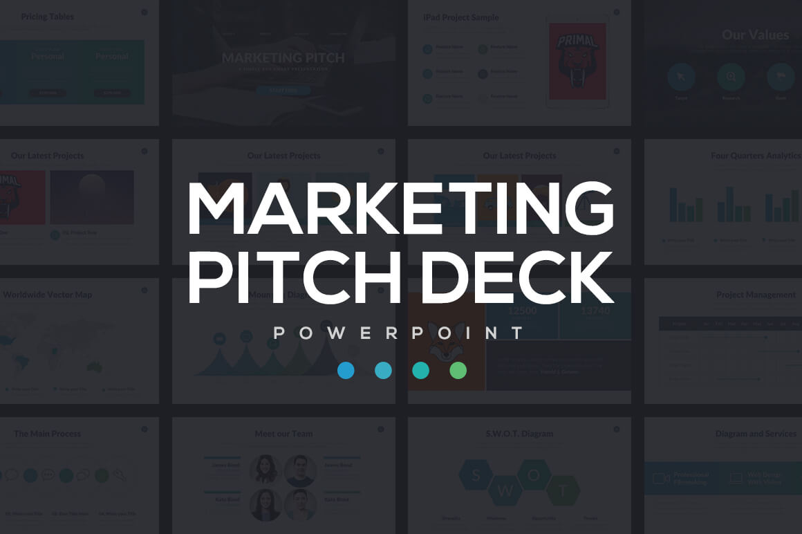 20 best new powerpoint templates of 2016 design shack marketing pitch deck powerpoint toneelgroepblik Images