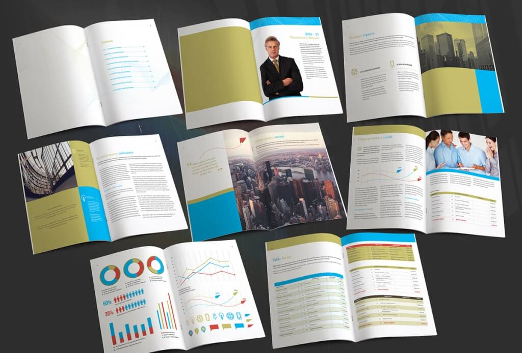 Business Annual Report Template Annual Report Prezi Template