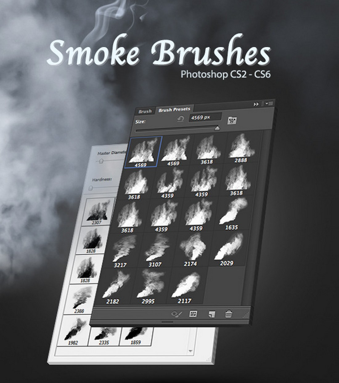 19-High-Quality-Photoshop-Smoke-Brushes 15+ Best Photoshop Smoke Brushes design tips