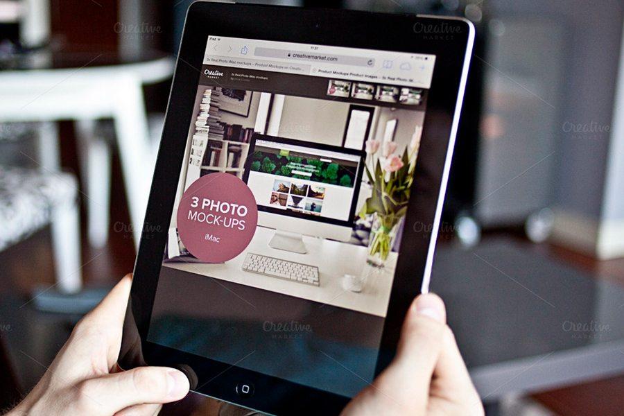 196 100+ iPad Mockups: PSDs, Photos & Vectors design tips