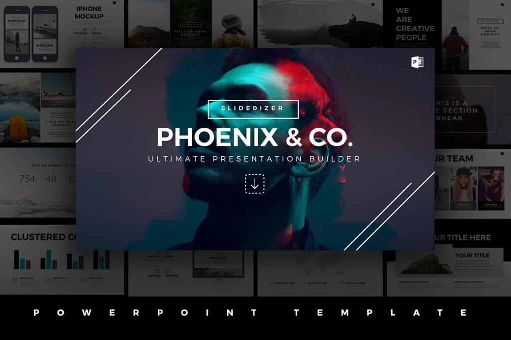 25 best minimal powerpoint templates 2018 design shack an amazing minimally designed professional template that comes with 115 slides and over 450 vector items included in the pack toneelgroepblik