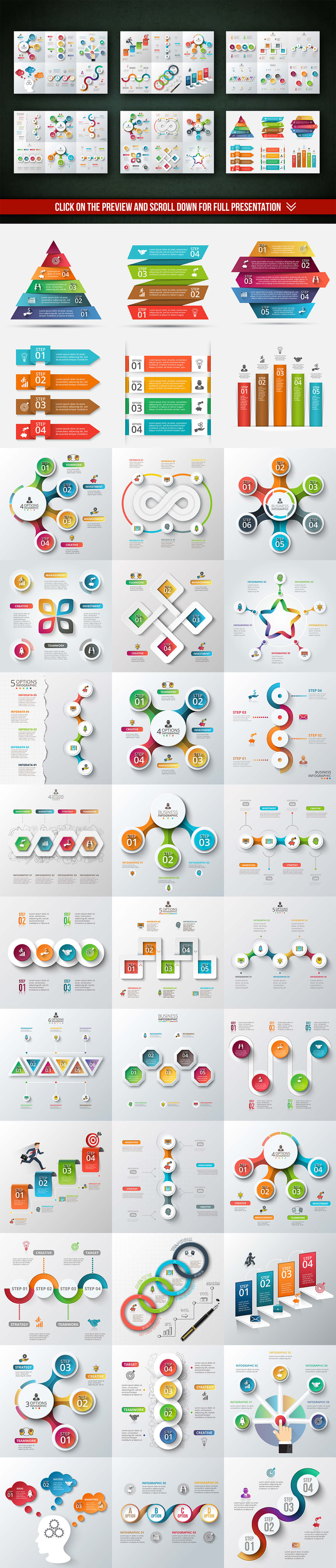 2-18 40+ Best Infographic Templates (Word, PowerPoint & Illustrator) design tips