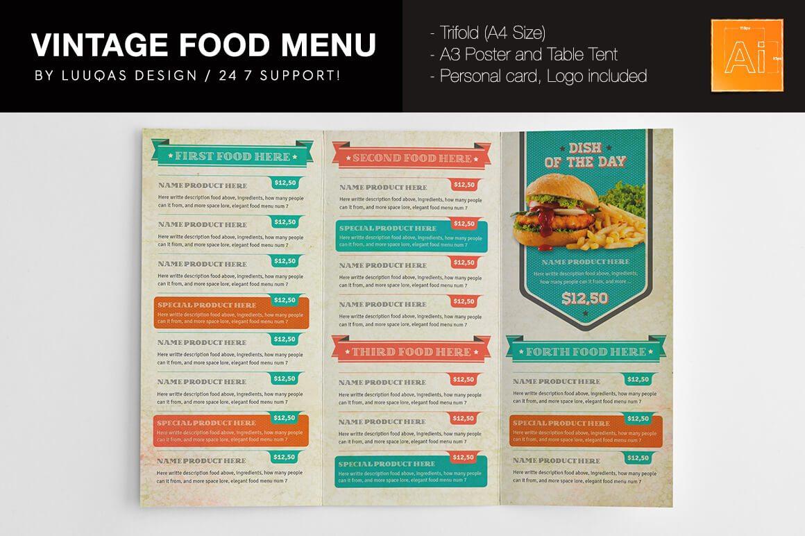 2-19 50+ Best Food & Drink Menu Templates design tips