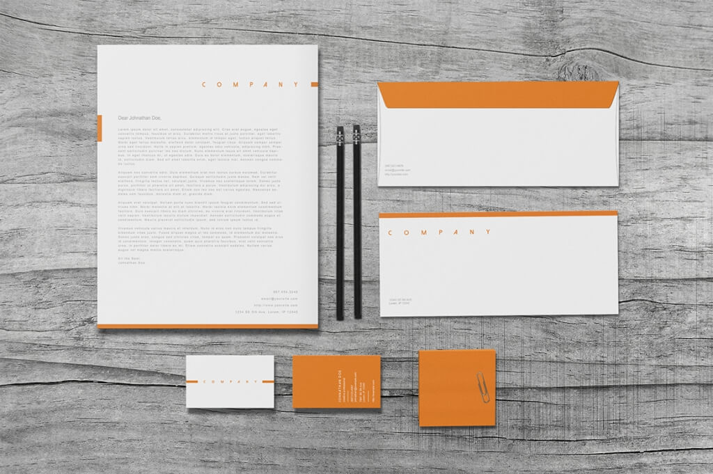 80 Modern Stationery Templates Design Shack