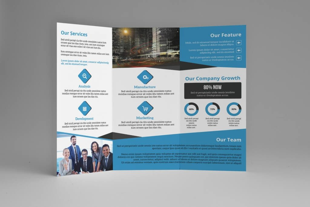 InDesign Business Brochure