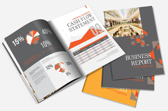 20 Annual Report Templates – Business Reporting Templates