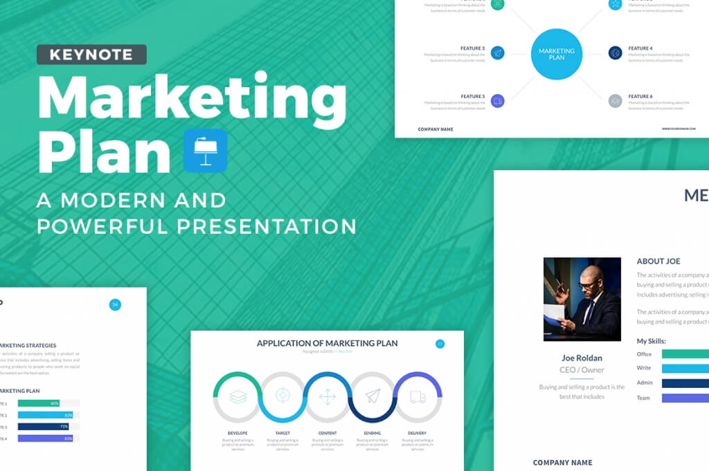 25+ modern, premium keynote templates | design shack, Powerpoint templates