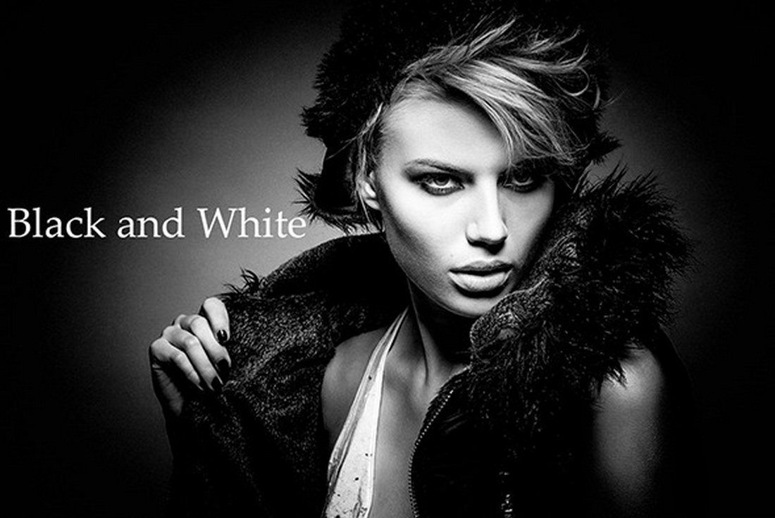 20 Black and White Photoshop Actions