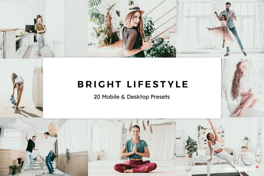 20 Bright Lifestyle Lightroom Mobile Presets
