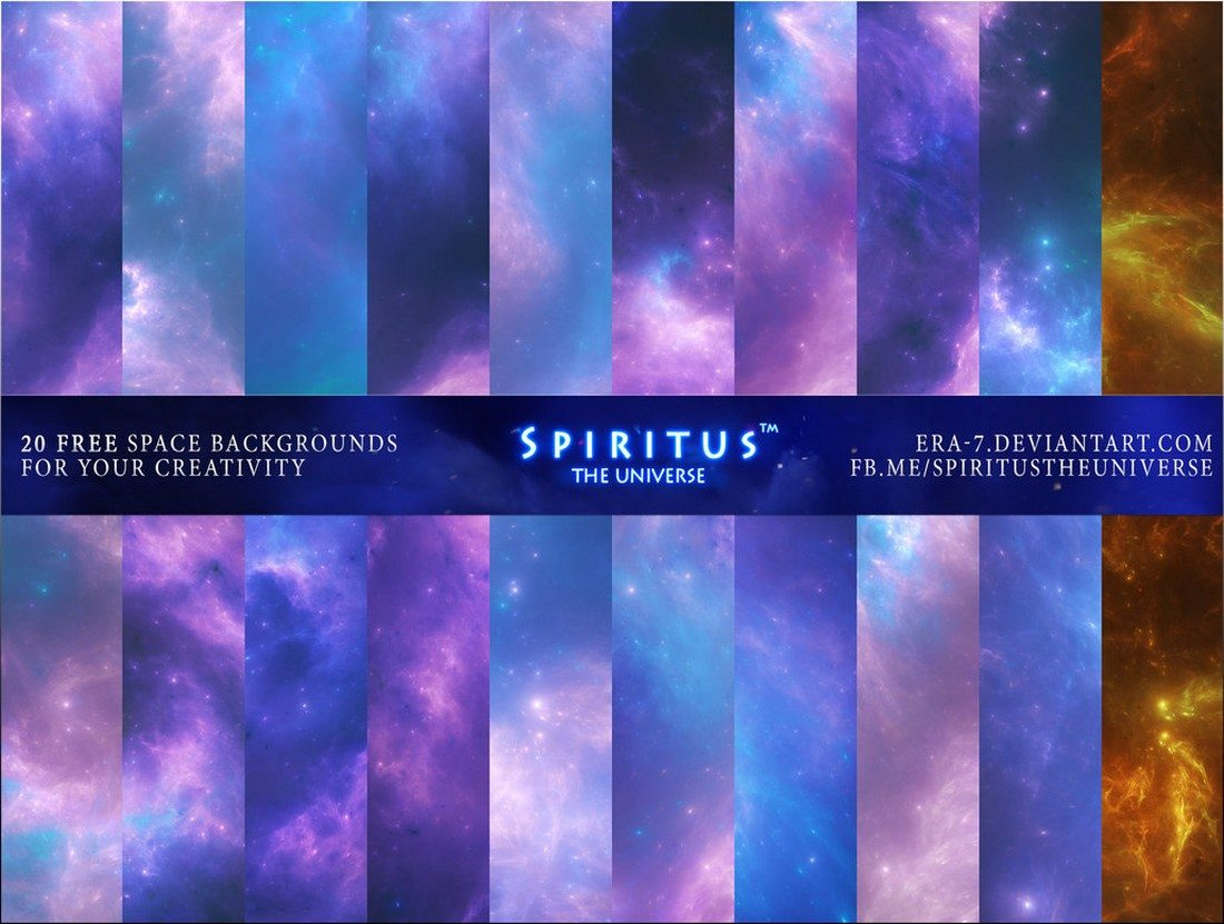 20-Free-Space-Backgrounds 35+ Best Space & Galaxy Background Textures design tips
