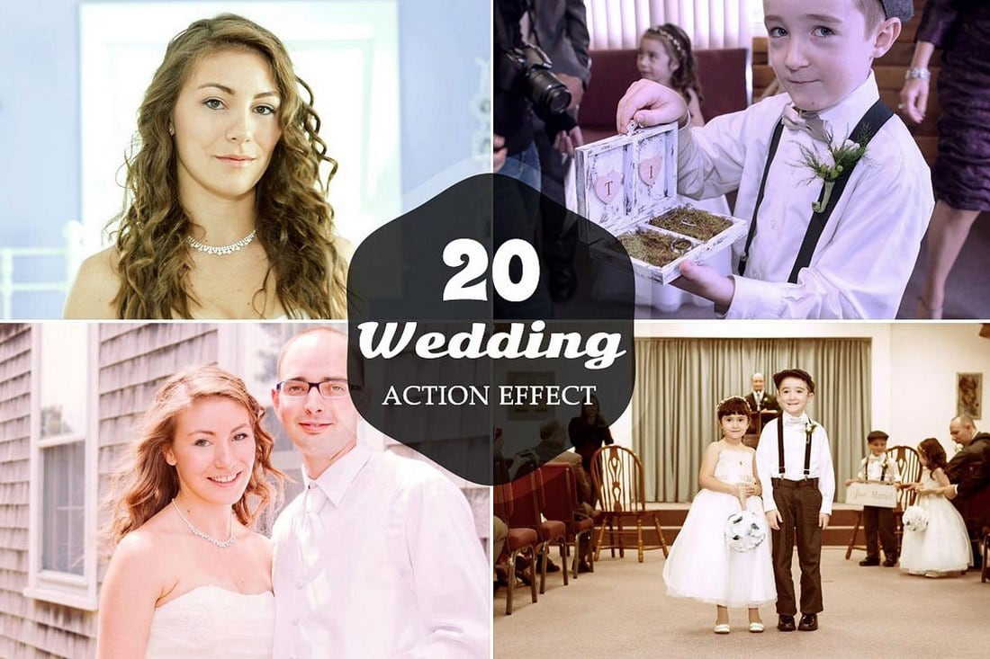 20 Free Wedding Photoshop Actions v1