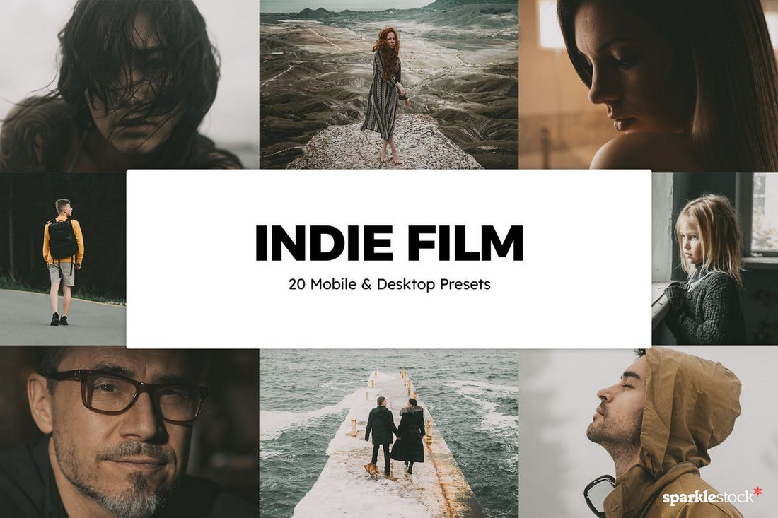 20 Indie Film LUTs for FCPX & Premiere Pro