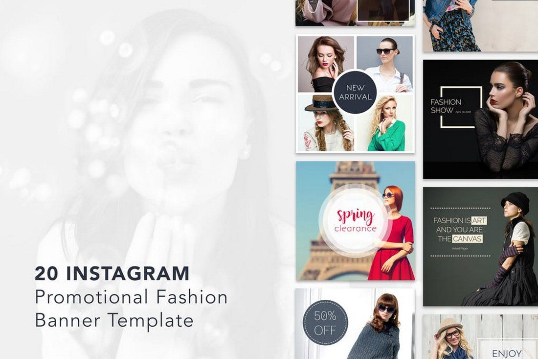 20-Instagram-Promotional-Banner-Templates 30+ Best Instagram Templates & Banners design tips