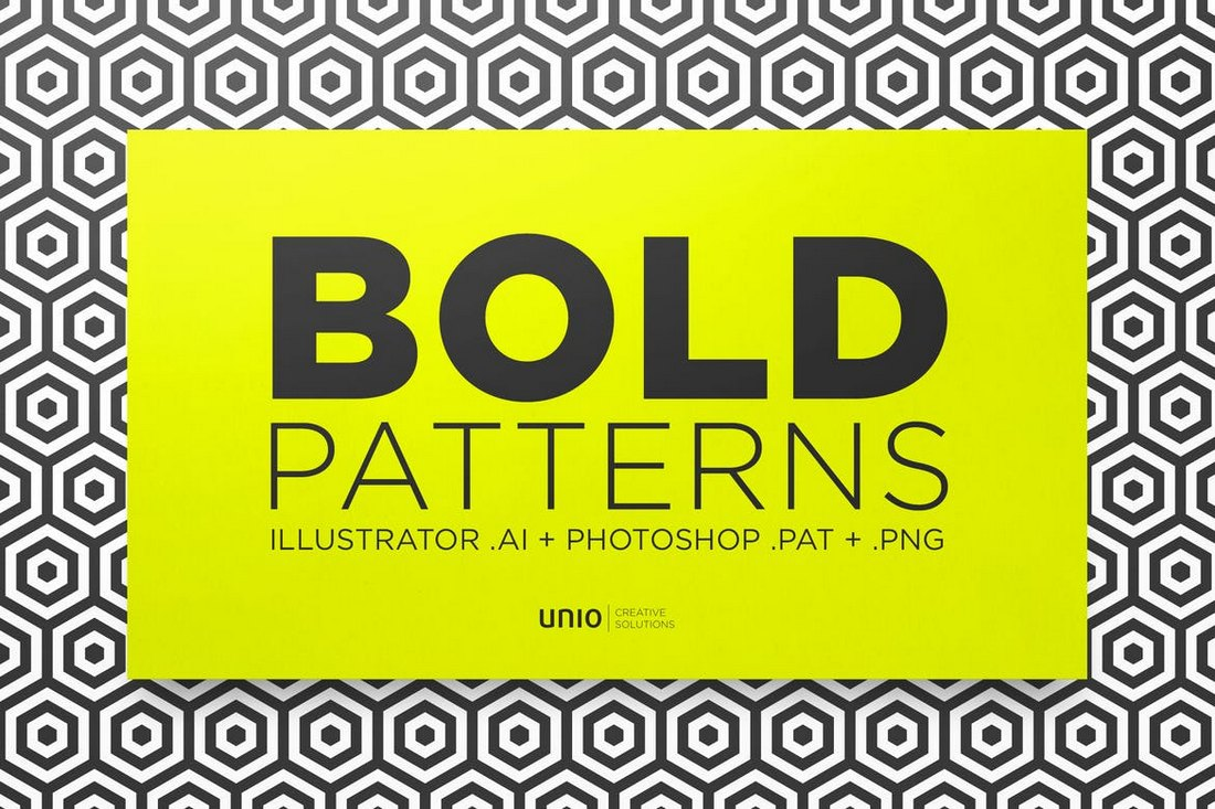 20 Seamless Bold Patterns