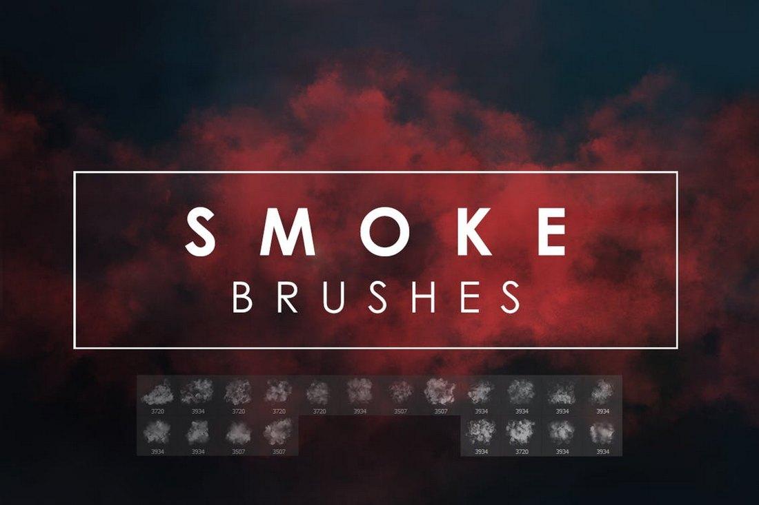 20-Smoke-Photoshop-Brushes 30+ Best High-Quality Photoshop & Illustrator Brushes design tips