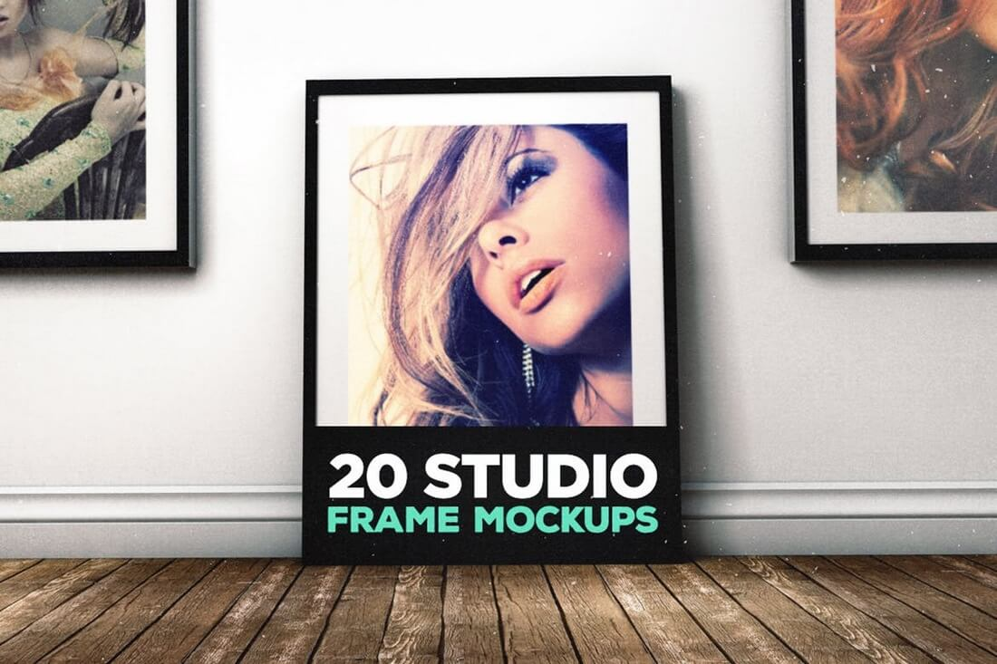 20-Studio-Frame-Mockups 30+ Best Poster Mockup Templates 2021 design tips