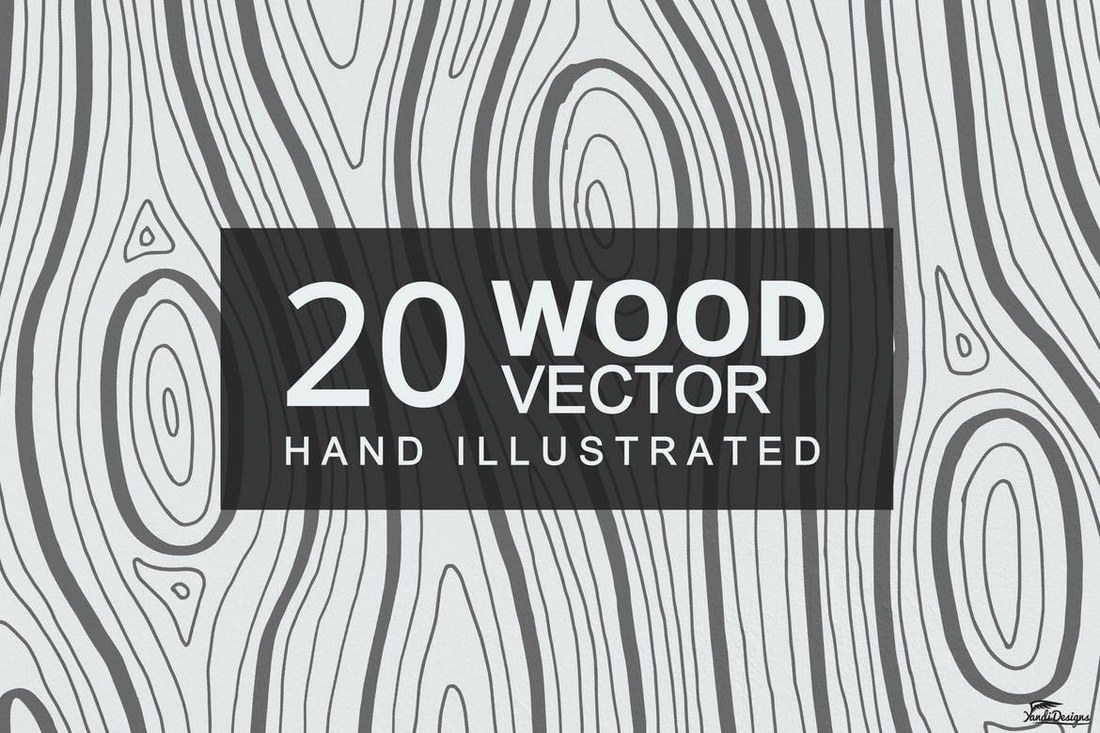 20-Wood-Textures 30+ Best Subtle Black & White Background Textures design tips