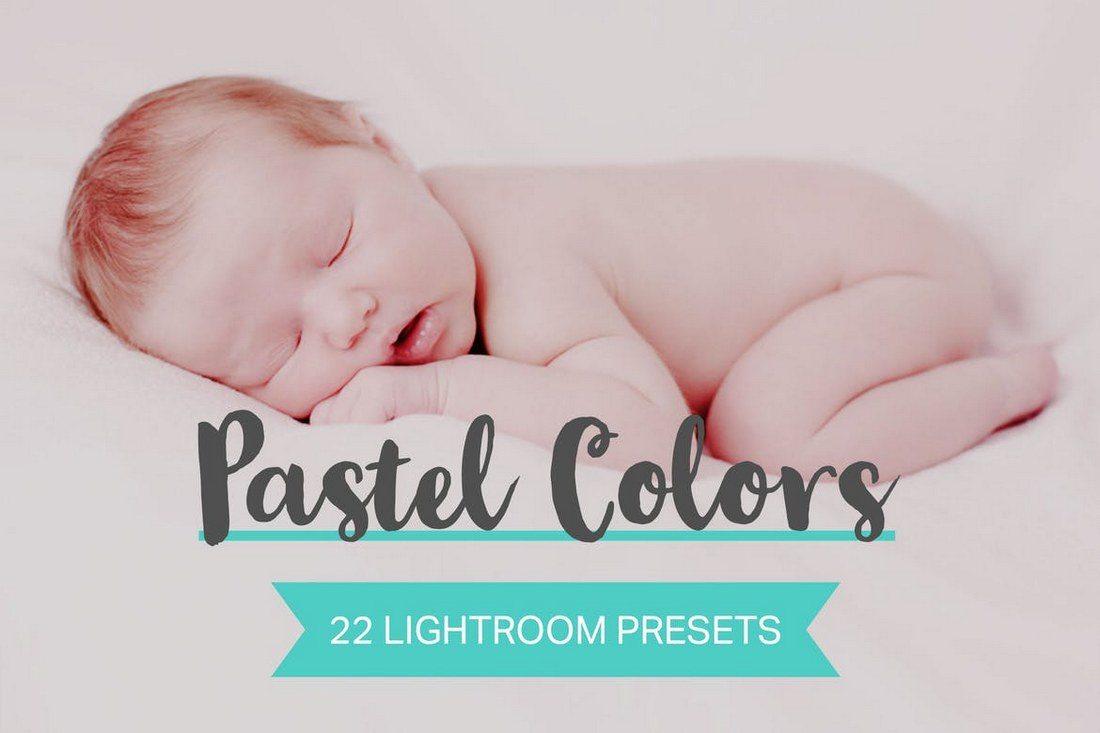 22-Pastel-Colors-Lightroom-Presets-1 20 Best Newborn Lightroom Presets for Baby Photography design tips