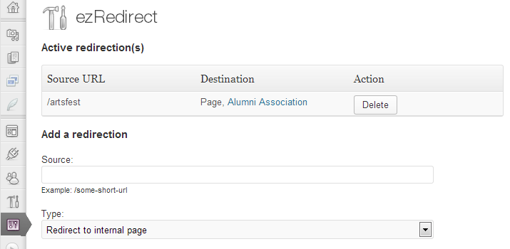 ezredirect wordpress open source plugin redirection