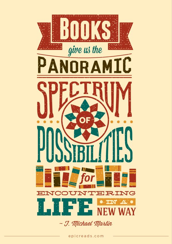 Typographic Book Cover Quotes : Typographic posters stunning examples design shack