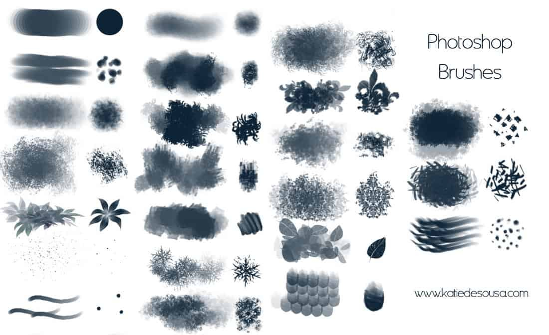 23 Creative Brushes For Photoshop