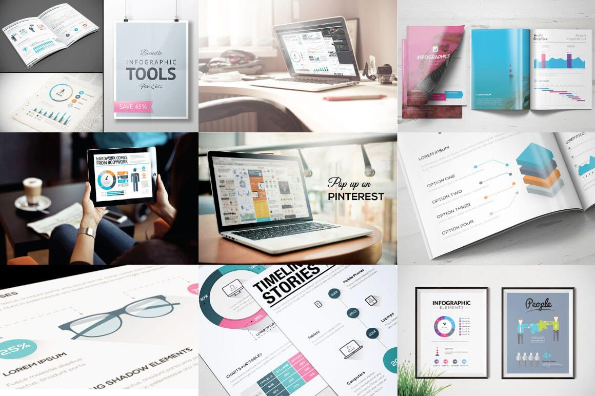 24-7 40+ Best Infographic Templates (Word, PowerPoint & Illustrator) design tips