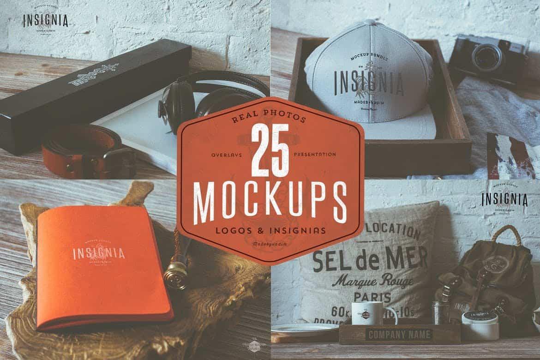 25-Hip-Logo-Overlay-Mock-Ups 100+ Logo Mockup Templates (PSD & Vector) design tips