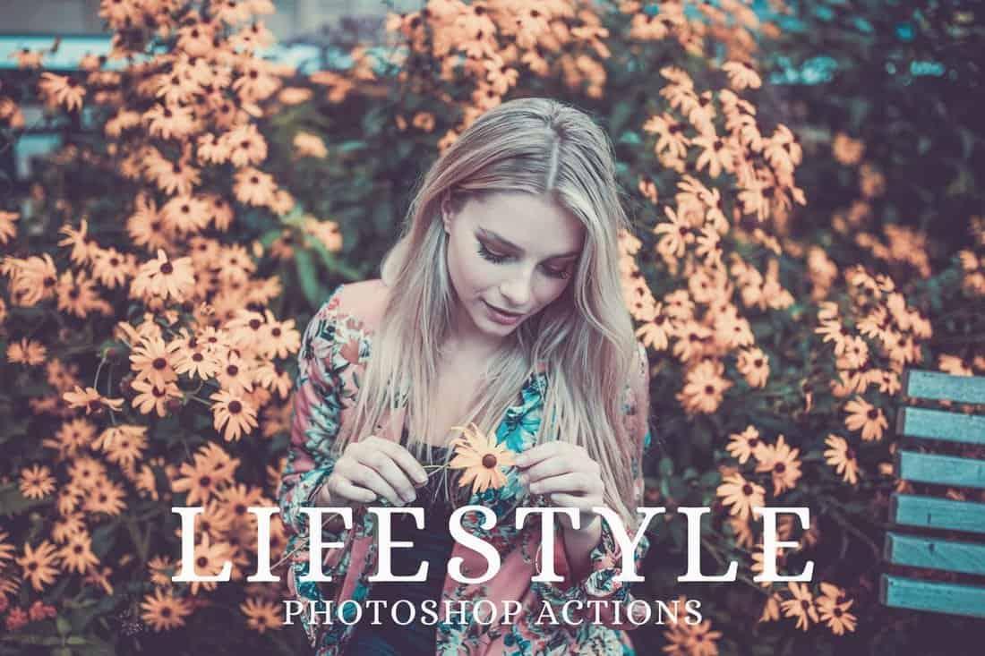 25 Matte Lifestyle Photoshop Actions