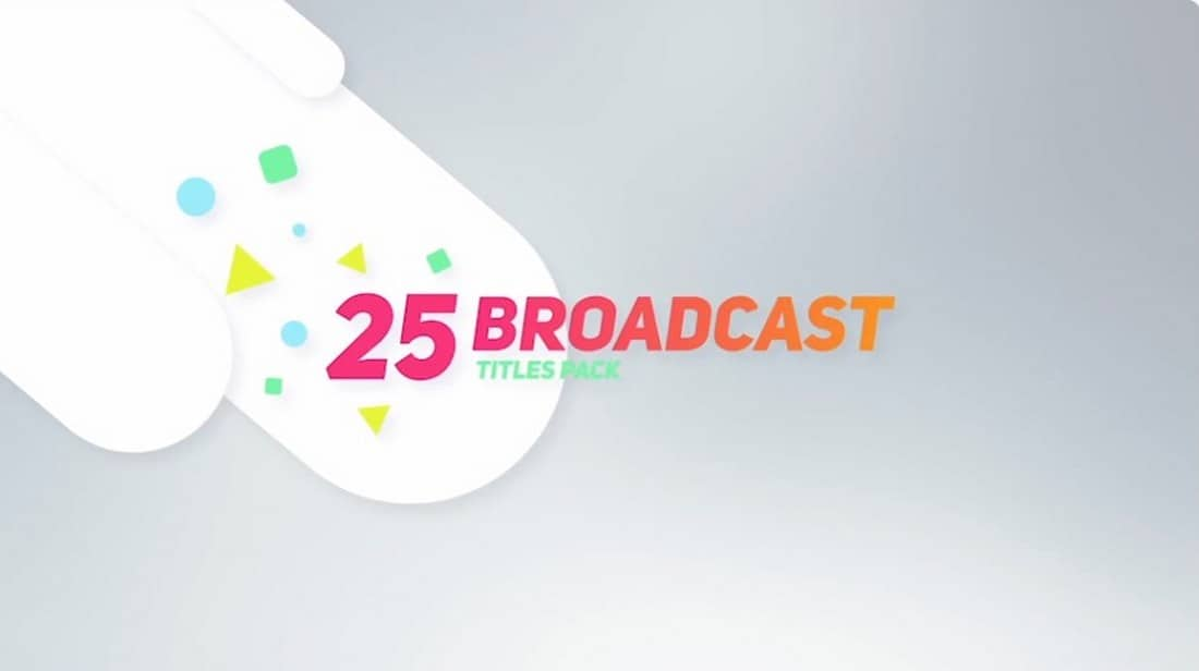 25-broadcast-after-effects-title-template 35+ Best After Effects Title Templates 2021 design tips